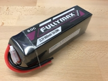 Leomotion LiPo  5600mAh  6s1p 80C  - by Fullymax