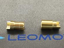 6mm Stecker/Buchsen Set vergoldet