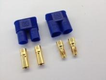 3.5mm Stecker/Buchsen Set vergoldet mit Verpolungsschutz (EC3)