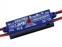 EMCOTEC DPSI Micro SingleBat 5.9V/7.2V JR