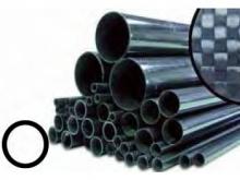 CFK Rohr gerollt  6/4mm, 1m