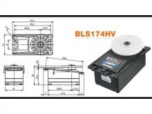 Futaba Servo S.Bus BLS174SV - 9.6 kg/cm