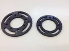 L30/L40 Spant 30mm aus CFK / Carbon Fiber Bulkhead 30mm for L30/L40
