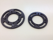 L30/L40 Spant 36mm aus CFK / Carbon Fiber Bulkhead 36mm for L30/L40