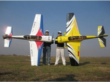 SebArt Sukhoi 29S 2.6m weiss/rot/blau (2600mm)