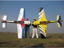 SebArt Sukhoi 29S 2.6m gelb/schwarz/silber (2600mm)