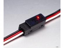 robbe S.BUS Klemme für 1mm² Flächenkabel mit PWM-Konverter