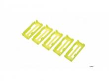 Robbe/Futaba Safety Clip gelb 5Stk