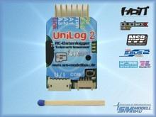 SM Modellbau UniLog 2 mit Speicherkarte und Kartenleser