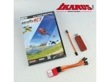 aerofly RC7 Ultimate mit USB Converter für Wireless Flug