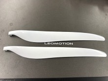 Leomotion Carbon Propeller 18.0 x  8.5 Scale (8mm) - weiss