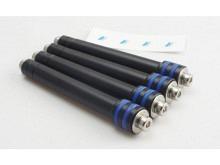 Motor-Verlängerung ∅10mm Alu, M4,  Länge 40 bis 60mm